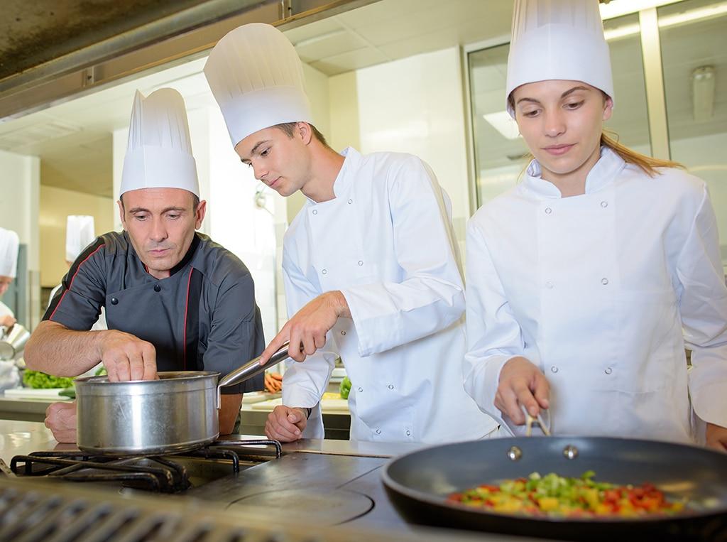 chef cuisinier apprenant à cap psr